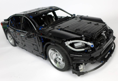 Lego Technic Tesla Model S Remote Control