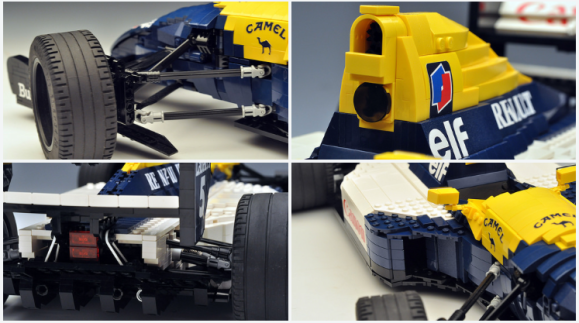 Lego Williams FW14B Formula 1