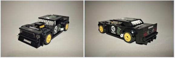 Lego Ken Block Ford Mustang