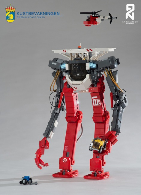 Lego Coast Guard Mech 'Storken'