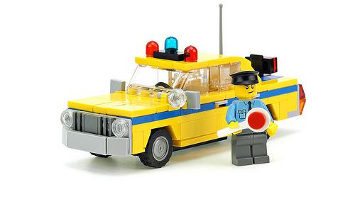 Lego Police Patrol Car