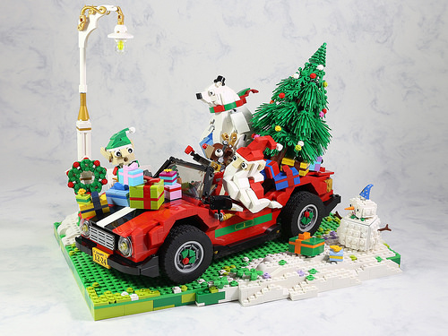 Lego Santa Roadster