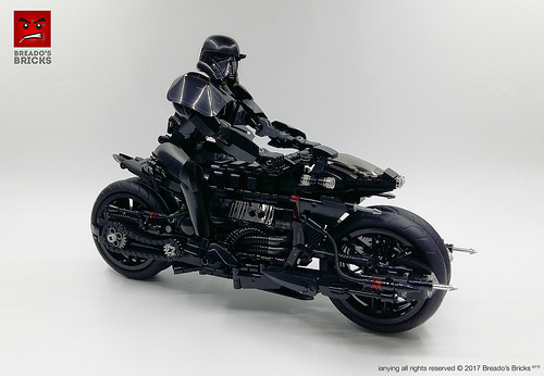 Lego Death Trooper Motorcycle