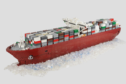 Lego Container Ship