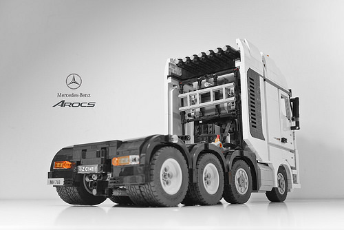lego mercedes benz arocs 4163 truck rc the lego car blog. Black Bedroom Furniture Sets. Home Design Ideas