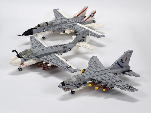 Lego US Navy Aircraft