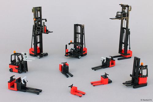 Lego Forkilfts