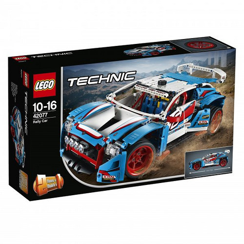 Lego Technic 42077 Rally Car Review