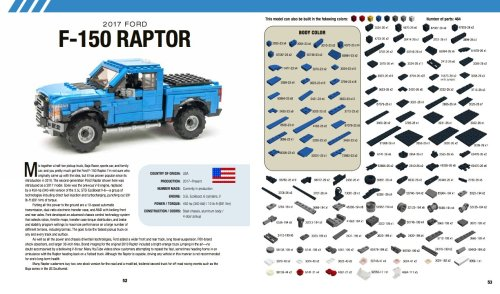 Lego Ford Raptor Instructions