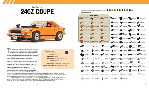 Lego Datsun 240Z Instructions