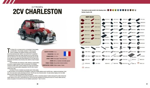 Lego Citroen 2CV Instructions