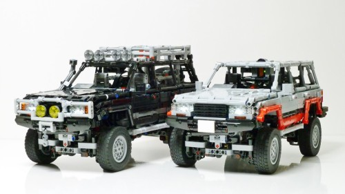 Lego Technic Toyota Land Cruiser 80 Series