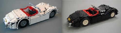 Lego Technic Jaguar XK120