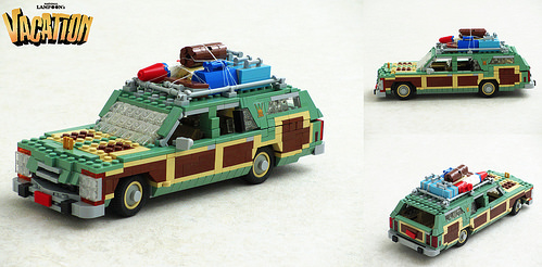 Lego National Lampoon S Vacation Wagon Queen Family Truckster The