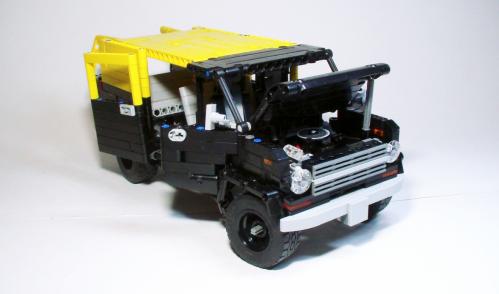 Lego Technic Ford Econoline Van 1975