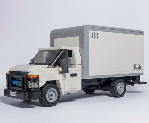 Lego Ford E Series Box Van