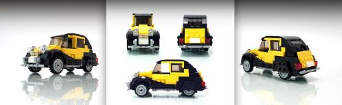 Lego Citroen 2CV