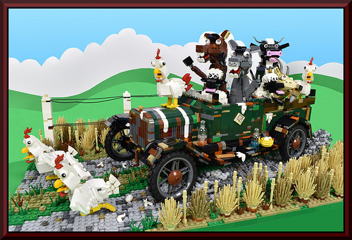 Lego Ford Model T Party Animals