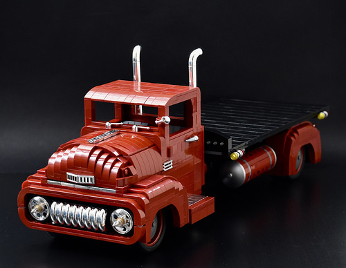 Lego 1950s Flatbed Truck
