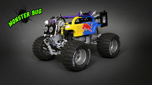 Lego Monster Bug 4x4 Crawler
