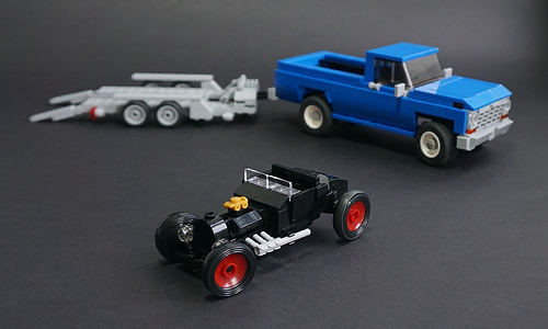 Lego Hot Rod and Pick-Up 75875