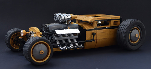 Lego V8 Hot Rod