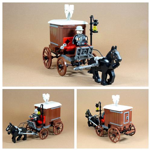 Lego Django Unchained Cart