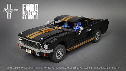 Lego Ford Mustang GT350