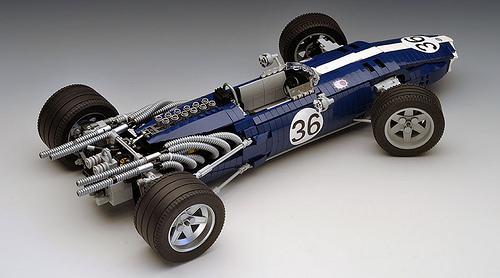 Lego Eagle Weslake Mk1 F1