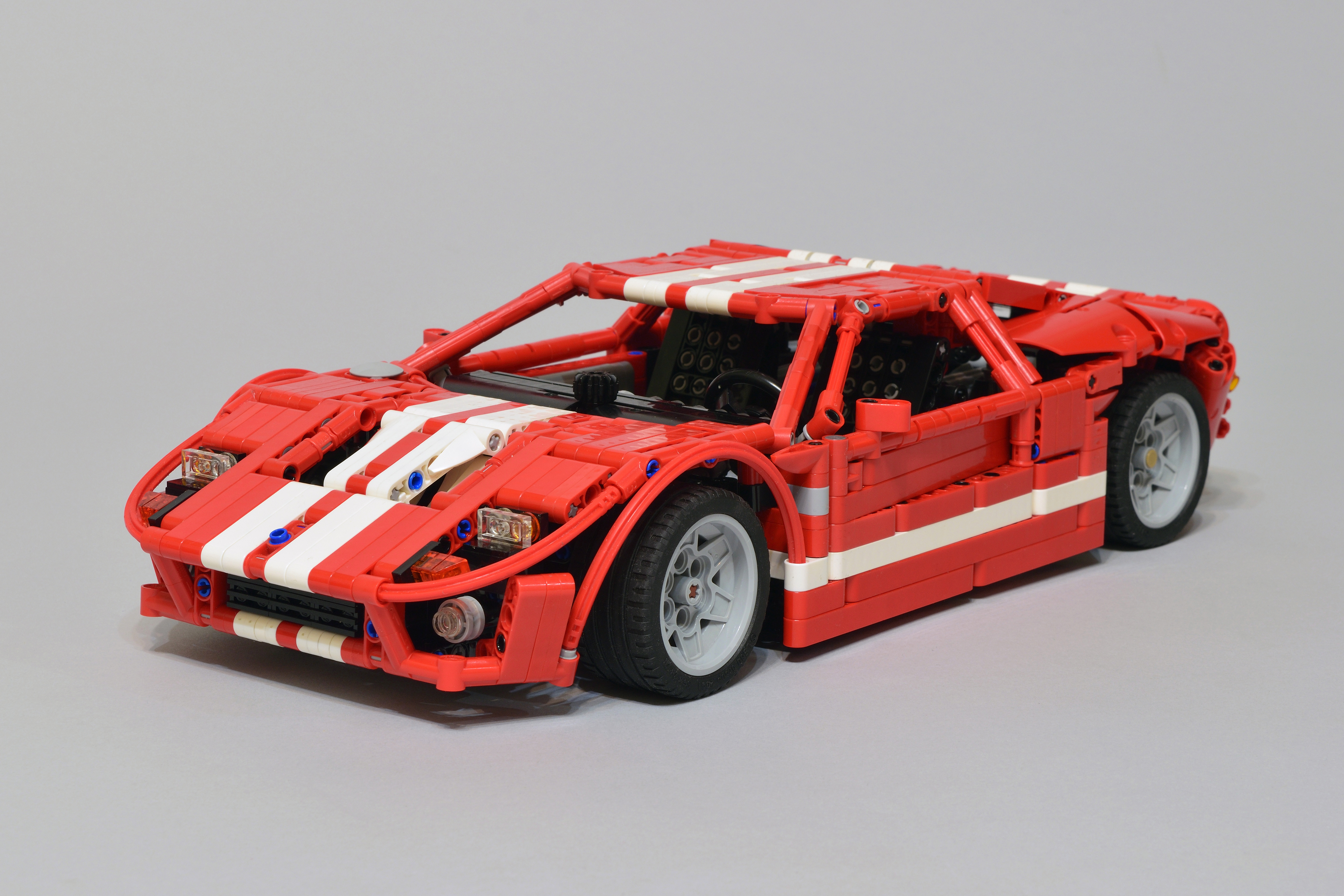 lego technic ford gt the lego car blog. Black Bedroom Furniture Sets. Home Design Ideas