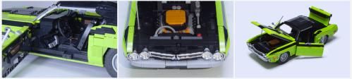 Lego Dodge Challenger Hemi V8