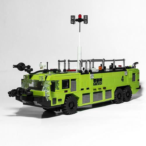 Lego Oshkosh Striker Firetruck