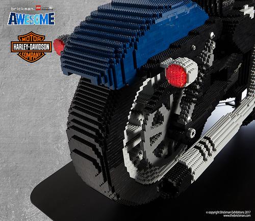 Lego Life-Size Harley Davidson 48