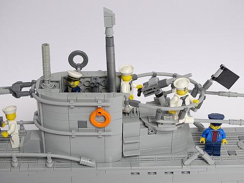 Lego U-Boat Submarine