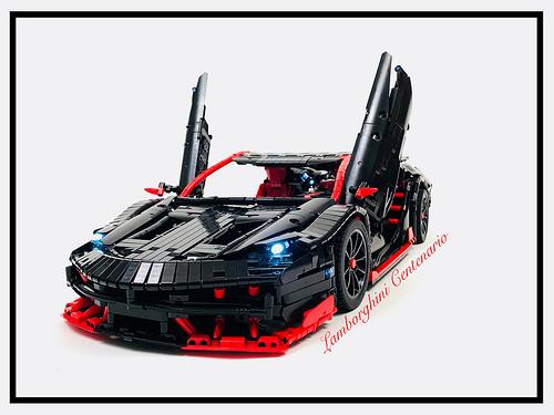 Lego Technic Rc Lamborghini Centenario The Lego Car Blog