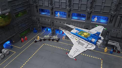 Lego Neo Classic Space Hangar