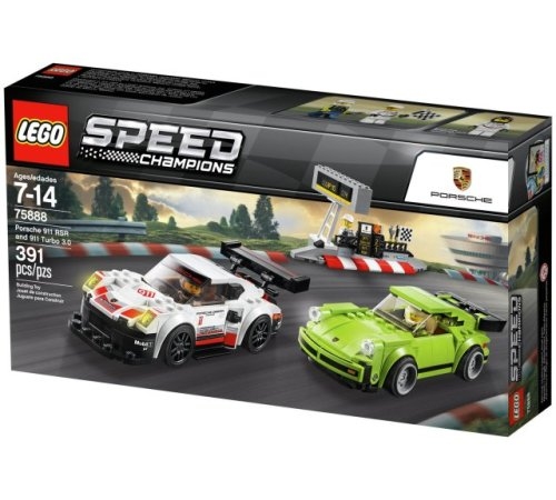 Lego 75888 Speed Champions Porsche 911 RSR & 911 Turbo 3.0