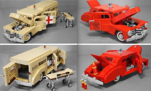 Lego Chevrolet Fleetmaster