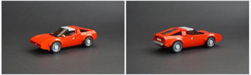 Lego Maserati Bora