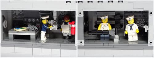 Lego U-Boat VIIc