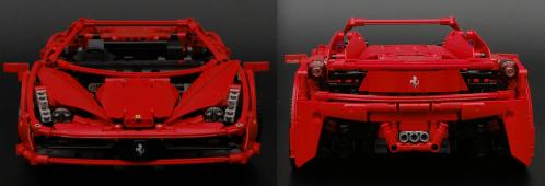 Lego Technic Ferrari 456 Spider
