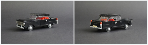 Lego Black Sedan