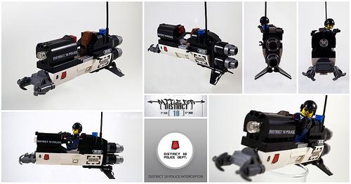 Lego Police Speeder