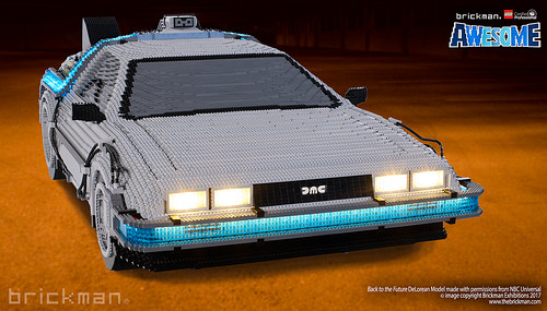 Lego Back to the Future DeLorean Time Machine