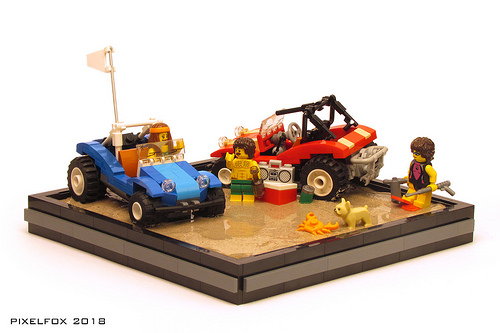 Lego Meyers Manx Beach Buggy
