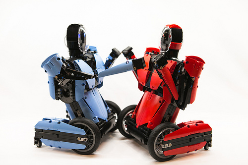 Lego RC Rock 'Em Sock 'Em Robots