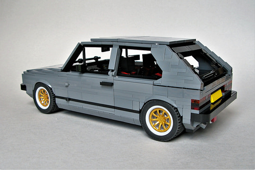 Lego Volkswagen Golf GTI Mark 1