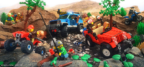 Lego Rocky Road Chase