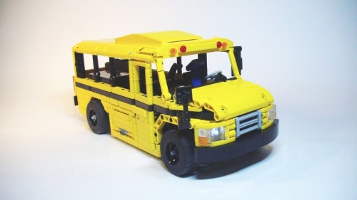 Lego Technic RC School Bus