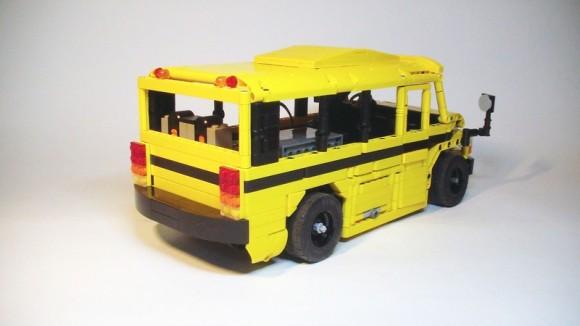 Lego Technic RC School Bus